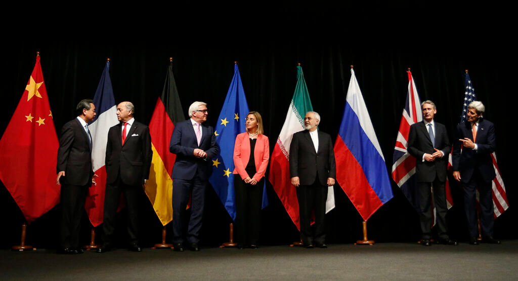 The P5+1, European Union, and Iranian signatories of the Nuclear Deal.